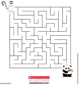 Laberinto señor Panda