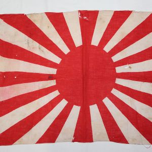 M. WWII GERMAN & JAPANESE FLAGS, BANNERS, INERT ORDNANCE, FIELD GEAR, PACKS, BELTS, POUCHES, BAGS, CANTEENS, GAS MASKS