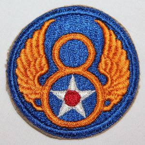 G006. UNISSUED WWII 8TH ARMY AIR FORCE PATCH