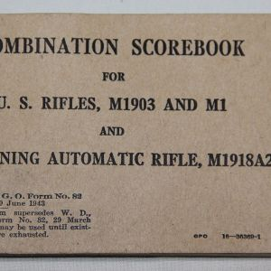 WWII U.S. PAPER ITEMS, MANUALS, UNIT HISTORIES, BOOKS, BROCHURES, LETTERS, POSTERS