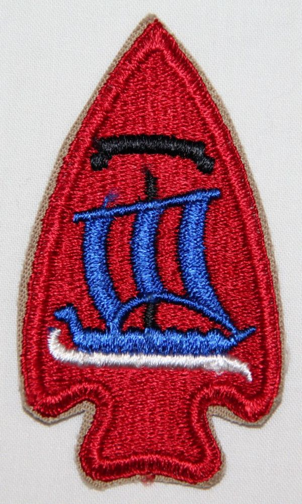G014. WWII 474TH INFANTRY REGIMENT PATCH