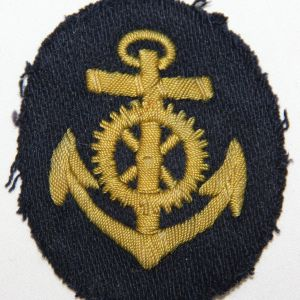 O.004. WWII GERMAN KRIEGSMARINE ENGINEER PETTY OFFICER SLEEVE INSIGNIA