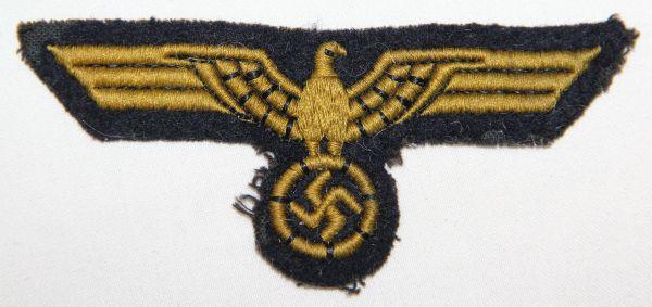 O.007. WWII GERMAN KRIEGSMARINE BREAST EAGLE