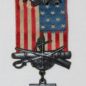 A001. UNITED SPANISH WAR VETERANS MEDAL, NUMBERED