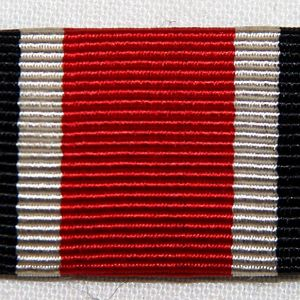 Q047. WWII GERMAN 2ND CLASS IRON CROSS RIBBON BAR
