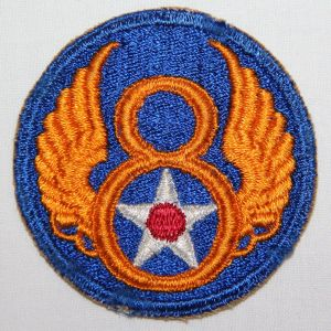 G163. WWII 8TH AAF PATCH
