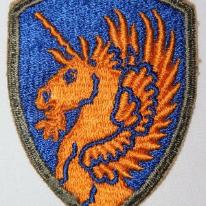 G167. WWII 13TH AIRBORNE DIVISION PATCH