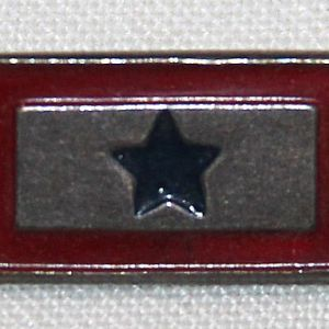 I007. WWII STERLING SON IN SERVICE LAPEL PIN
