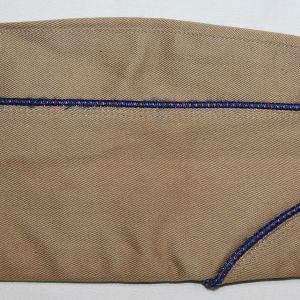 C017. WWII AAF PIPED OVERSEAS, GARRISON CAP