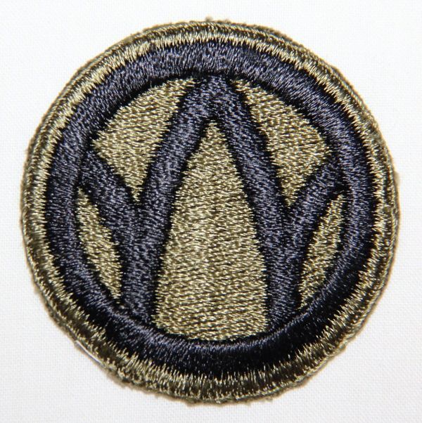 G037. WWII 89TH INFANTRY DIVISION PATCH