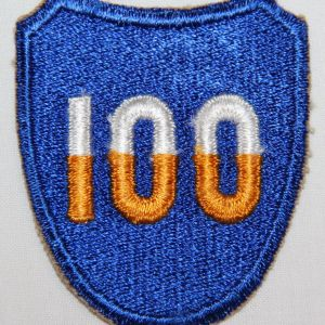 G058. WWII 100TH INFANTRY DIVISION PATCH