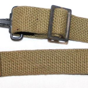 E012. WWII MEDIC BAG SHORT CANTLE STRAP