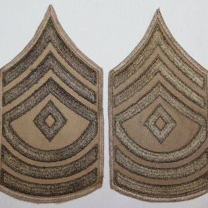 G181. WWII FIRST SERGEANT CHEVRONS