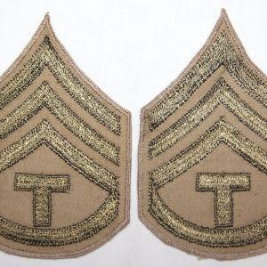 G179. WWII TECHNICIAN 3RD GRADE CHEVRONS