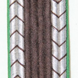 O.056. WWII GERMAN POLICE OBERWACHTMEISTER SHOULDER BOARD