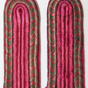 O.058. WWII GERMAN FIRE POLICE SHOULDER BOARD SET