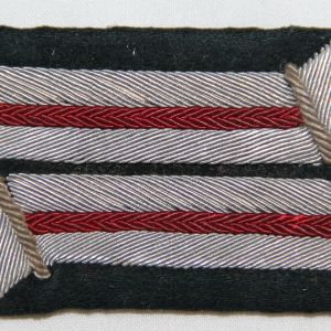 O.084. WWII GERMAN ARMY ARTILLERY OFFICER COLLAR TAB