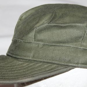 T073. EARLY VIETNAM U.S. ARMY SATEEN FIELD CAP