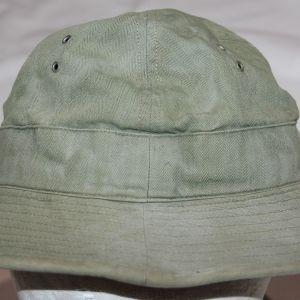 C028. EARLY WWII OD HBT DAISY MAE FATIGUE CAP
