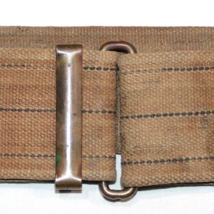 A016. SPANISH AMERICAN WAR 50 LOOP HULBERT PATTERN 30-40 KRAG CARTRIDGE BELT
