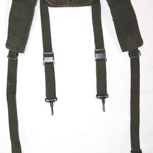 T080. VIETNAM M-1956 LONG SIZE COMBAT SUSPENDERS