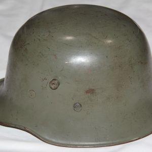 L022. PRE WWII GERMAN M18 STYLE CIVIC HELMET
