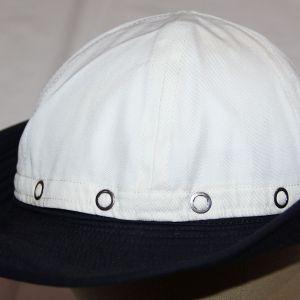 C035. ORIGINAL WWII WOMEN'S U.S. NAVY WAVES SUMMER WHITE CAP