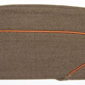 C038. WWII ORDNANCE PIPED OVERSEAS GARRISON CAP