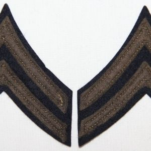 G093. WWII FELT ON FELT CORPORAL CHEVRONS