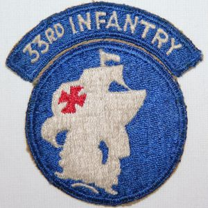 T095. VIETNAM 33RD INFANTRY RCT REGIMENTAL COMBAT TEAM PATCH