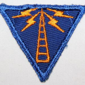 G107. WWII AAF COMMUNICATIONS SPECIALIST TWILL PATCH