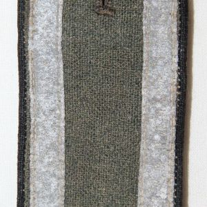 O.095. WWII GERMAN ARMY PIONEER UNTEROFFICER SHOULDER BOARD