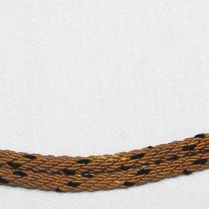 L031. WWII GERMAN REICHSBAHN NCO VISOR CAP CHINSTRAP