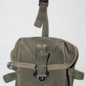 T108. PRE VIETNAM FIRST PATTERN SMALL ARMS AMMUNITION POUCH