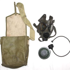 U020. DESERT STORM IRAQI GAS MASK SET