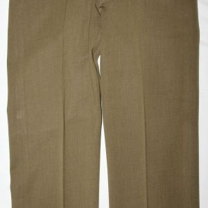 D039. EARLY WWII AAF AVIATION CADET GABARDINE WOOL TROUSERS