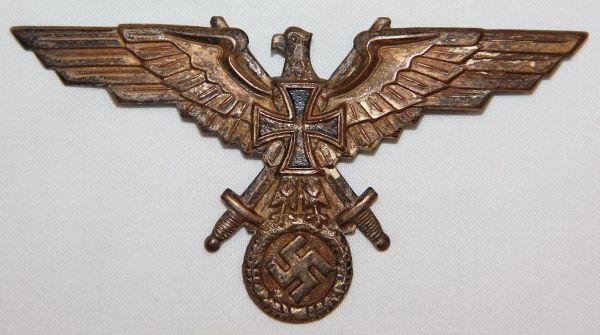 P061. WWII GERMAN SOLDATENBUND MEMBERS BREAST EAGLE