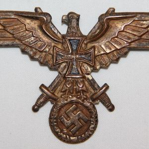 P061. WWII GERMAN SOLDATENBUND MEMBERS BREAST EAGLE