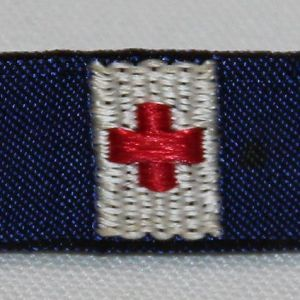 I037. WWII AMERICAN RED CROSS 5 YEAR SERVICE RIBBON