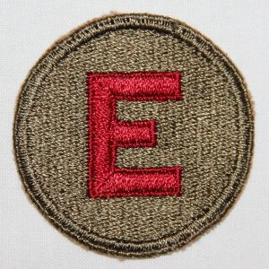 G127. WWII COAST ARTILLERY EXCELLENCE SLEEVE RATE PATCH