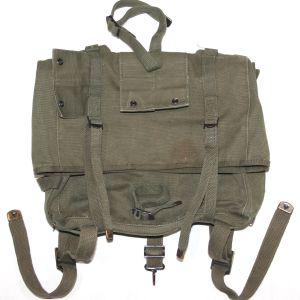 S064. KOREAN WAR USMC M1941 HAVERSACK BACKPACK