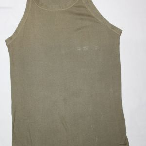 D053. WWII SLEEVELESS TANK TOP T-SHIRT