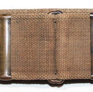 A035. SPANISH AMERICAN WAR MILLS DOUBLE LOOP KRAG CARTRIDGE BELT