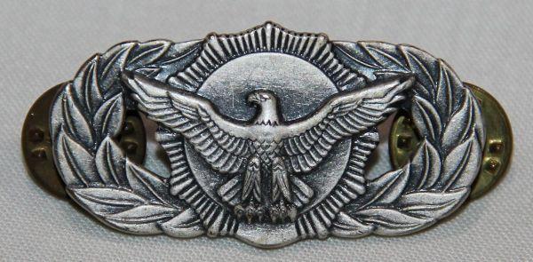 U028. USAF SECURITY POLICE QUALIFICATION BADGE
