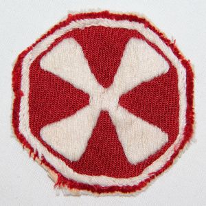 S072. KOREAN WAR THEATER MADE EIGHTH ARMY PATCH