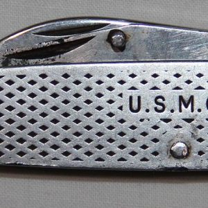 T154. VIETNAM 1971 DATED USMC CAMILLUS POCKET KNIFE