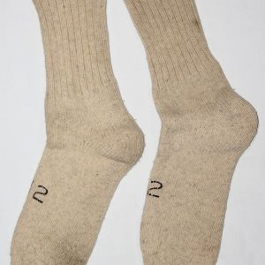 D064. WWII HEAVY WOOL WINTER COMBAT FIELD SOCKS