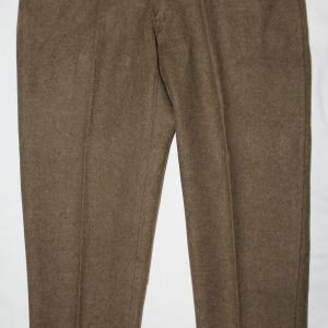 B173. RARE WWI STRAIGHT LEG WOOL TROUSERS