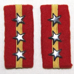 O.104. UNISSUED WWII JAPANESE ARMY SERGEANT MAJOR COLLAR TABS