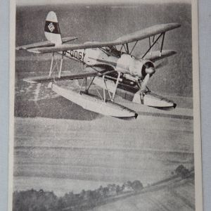 R062. WWII GERMAN LUFTWAFFE SEAPLANE POSTCARD